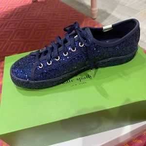 Limited edition Keds x Kate Spade glitter shoes!!